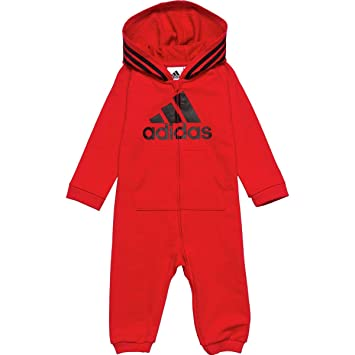 03797c849 Image Unavailable. Image not available for. Color: Adidas Hooded Coverall  ...