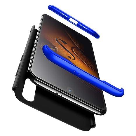 GoodcAcy Funda Xiaomi Mi 9 SE,Carcasa Móvil de Protección de 360°+ Cristal Templado HD Protector de Pantalla 3 en 1 Desmontable con Caso Case Cover ...