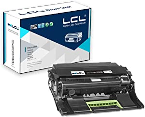 LCL Remanufactured Drum Unit Replacement for Dell 331-9810 331-9811 KVK63 B2360d B2360dn B3460dn B3465dn B3465dnf S2830dn S2830 (1-Pack Black)