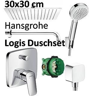 Erstaunlich vanvilla 3-Wege Unterputz Duscharmatur Thermostat, Edelstahl  HK93