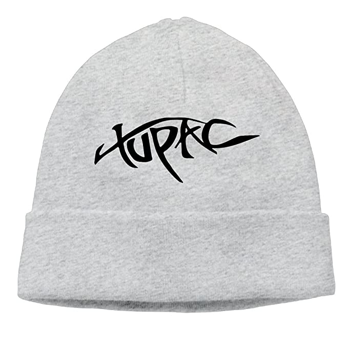 BYDHX 2Pac Tupac Logo Beanie Cap Ash: Amazon ca: Clothing