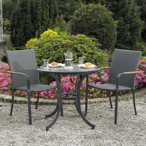 Naples Cafe Bistro Set For 2
