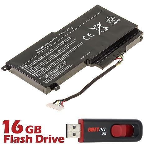 Battpit TM batería de ordenador portátil para Toshiba Satellite S55-A5279 (14,4 V 2838 mAh/43 wh) [18 meses de garantía]: Amazon.es: Electrónica