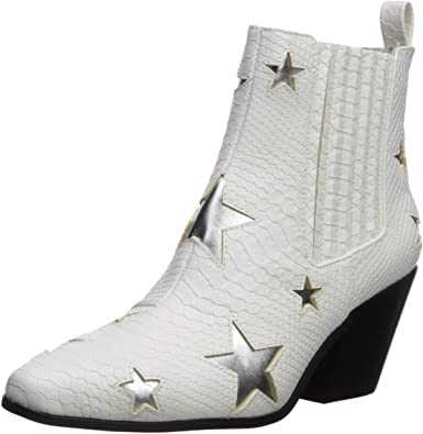 black boots with stars