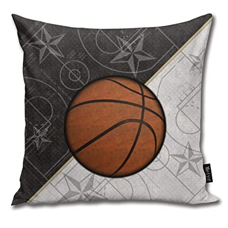 Sotyi-ltd - Funda de cojín con diseño de Estrellas de Baloncesto y ...