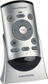 Grundig G-VRC-01 Easy-Use - Mando a distancia, color plateado: Amazon.es: Electrónica