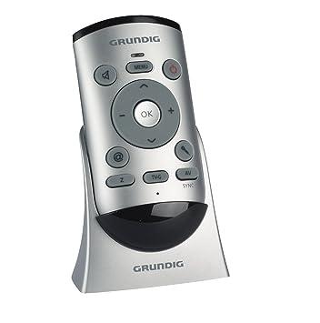 Grundig Easy Use Remote Control Fernbedienung Silber Amazonde
