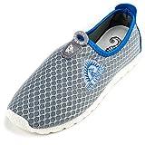 Sol Coastal Women's Shore Runner Water Shoes, Dolphin Grey, 9
