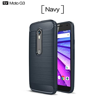 Funda Motorola Moto G3, OUJD [Rugged Armor] Shock-absorption ...