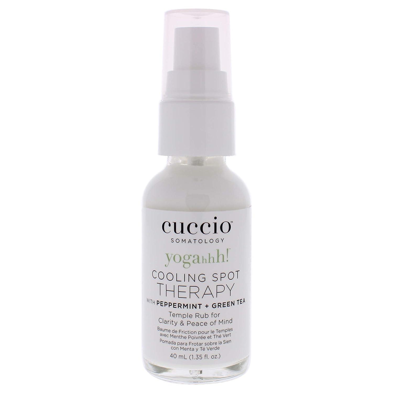Cuccio Cuccio Yogahh Cooling Spot Therapy - Pepper Mint and Green Tea Temple Rub 1.35 Oz, 1.35 Count