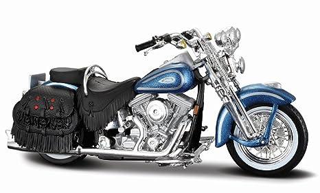 Harley Davidson Heritage Softail Springer FLSTS (1999) Diecast Model  Motorcycle