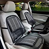 CARPASS-Back Lumbar Mesh Support Bamboo breathable cushion for Car/Truck/Van Seat Office cushions (2PCS--A)