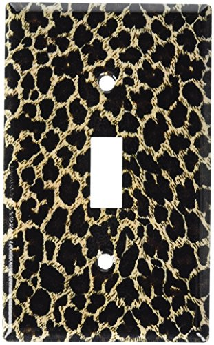 Art Plates - Leopard Print Switch Plate - Single Toggle