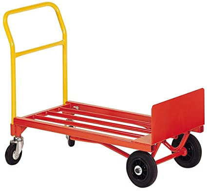 Carro-Carretilla de carga 4 ruedas