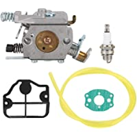 Kit de carburador para motosierra Husqvarna 36 41 136 137 141 142 Fit para Zama C1Q-W29E Carburador Kit de repuesto