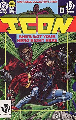 Icon #1 VF ; DC/Milestone comic book