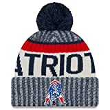 New England Patriots New Era 2017 NFL Official Sideline Sport Knit Hat - Classic