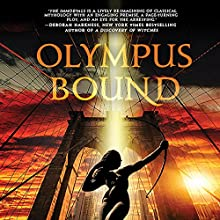 Olympus Bound Audiobook by Jordanna Max Brodsky Narrated by Jordanna Max Brodsky, Robert Petkoff