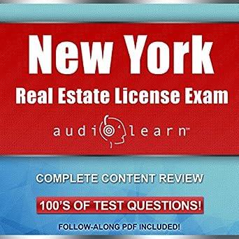Amazon com: New York Real Estate License Exam AudioLearn