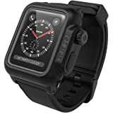 catalyst カタリスト Apple Watch 42mm シリーズ 2/3 完全防水 ケース ブラック CT-WPAW1742-BK CT-WPAW1742-BK