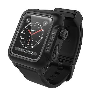 39677f78f2 catalyst カタリスト Apple Watch 42mm シリーズ 2/3 完全防水 ケース ブラック CT-WPAW1742