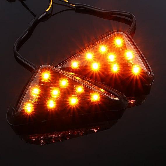 Amazon.com: Yolu - 2 luces de señalización LED ámbar para ...