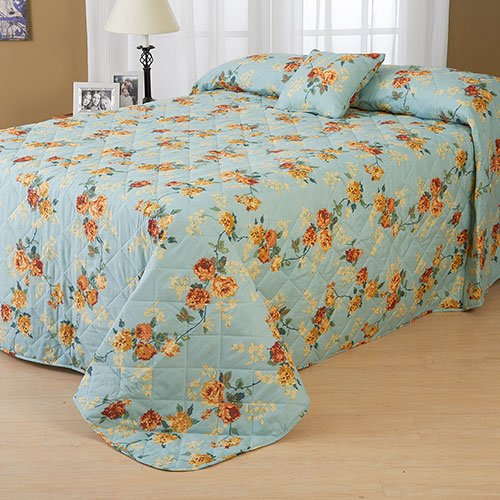 Ashley Cooper Maxine Floral Standard Bedspread in Twin Size
