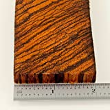 Bookmatched Zebrawood Knifes Scales, Handle Blank