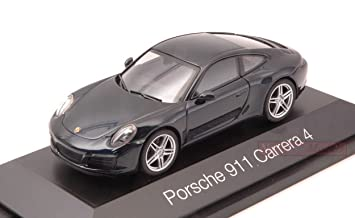 HERPA HP7109 PORSCHE 911 CARRERA 4 COUPE BLUE 1:43 MODELLINO DIE CAST MODEL