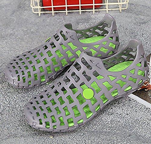 Pantofola Sandali YiLianDa Grigio Unisex Classic Sabot Zoccoli Spiaggia ZOYY4qwRv