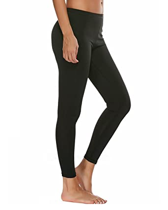 14304ef79bf15 SOUTEAM High Waisted Leggings-20 Colors-Super Soft Full Length Opaque  Slim(Small