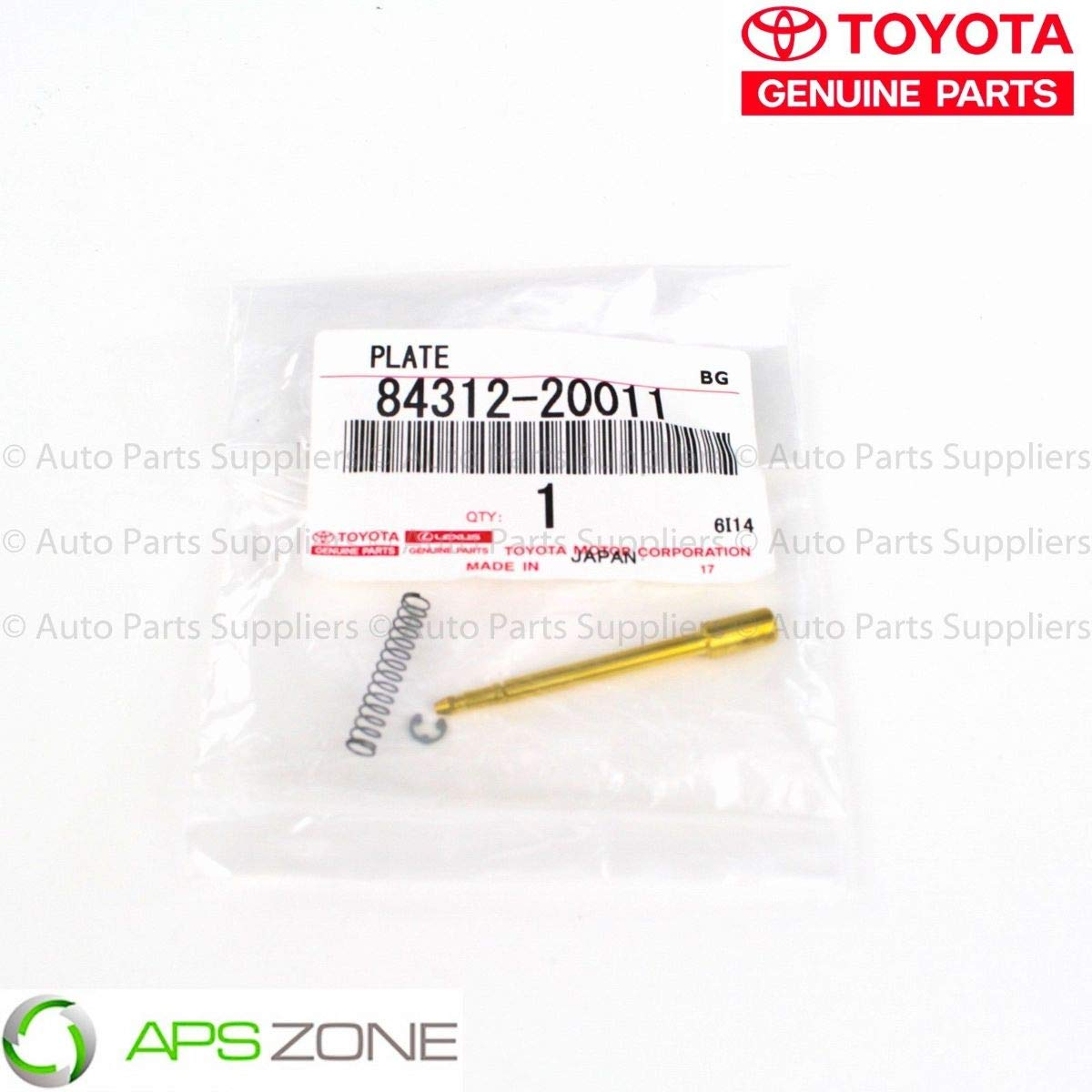 Amazon.com: Genuine Toyota Horn Contact Plate Oem 84312-20011: Automotive