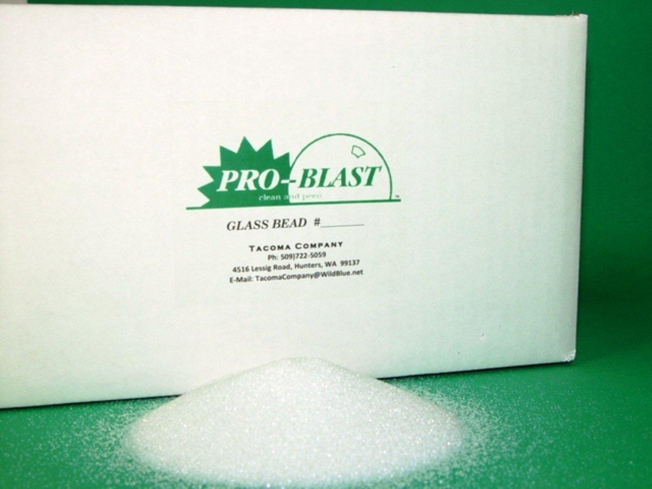 GLASS BEAD #3 - Large Diameter Bead - 25 lbs. - Sand Blast Cabinet ...