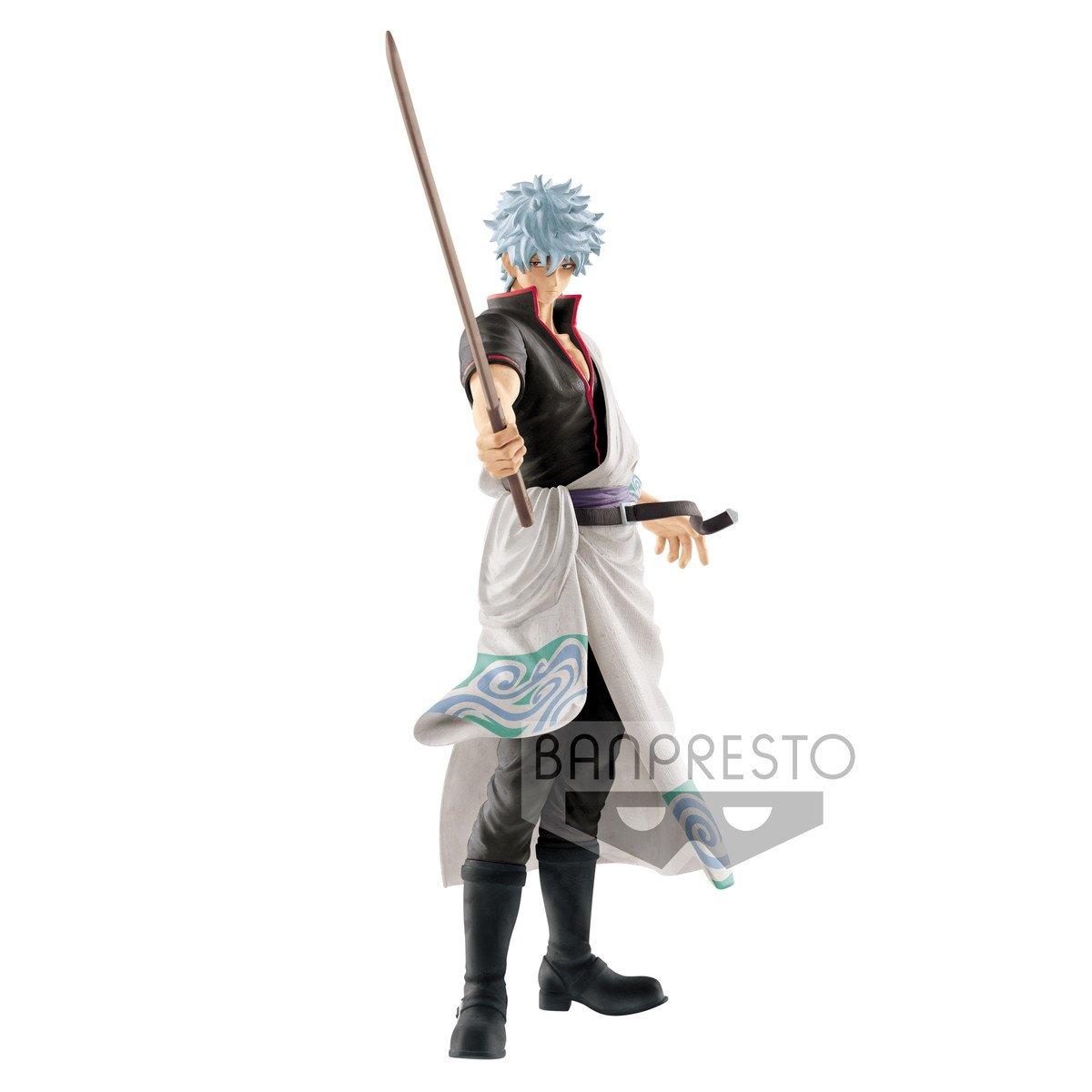 Banpresto Gintama Katsugeki - Kabukicho- Gintoki Sakata Toy, White