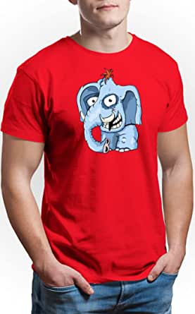 Art Gallery Misr Red Round Neck T-Shirt For Men