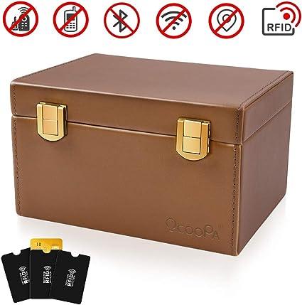 OCOOPA caja de bloqueo de señal para llave de coche, caja de Faraday para llaves de