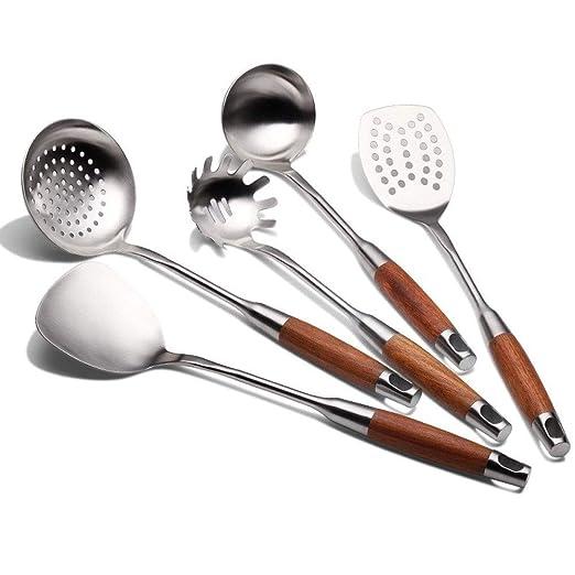 WJMLS - Juego de Utensilios de Cocina Profesional de Acero ...