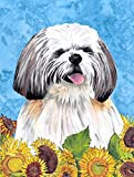 Cheap Caroline's Treasures SC9075GF Shih Tzu Flag, Small, Multicolor
