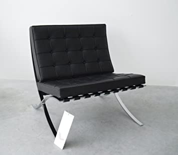 Barcelona Sessel Mies Van Der Rohe Knoll International Leder