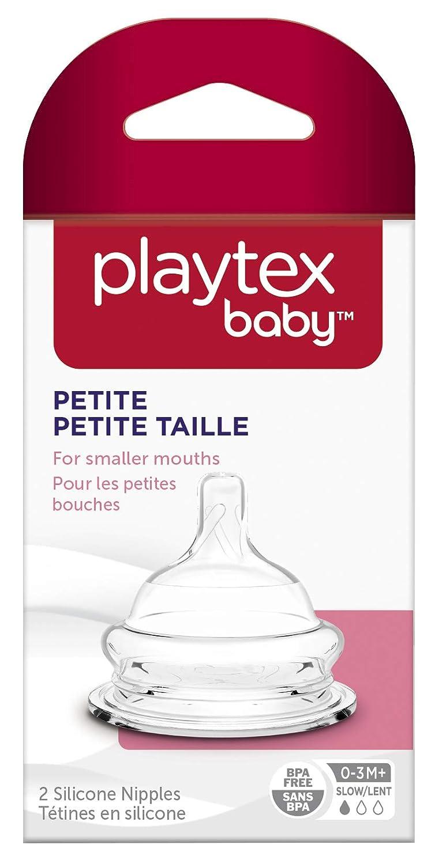 Amazon.com: Playtex Baby Petite flujo lento Nipple para ...