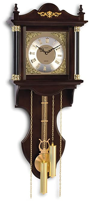 Buy Opal Wall Clocks Quarter Chime Clock Antique Look Wooden