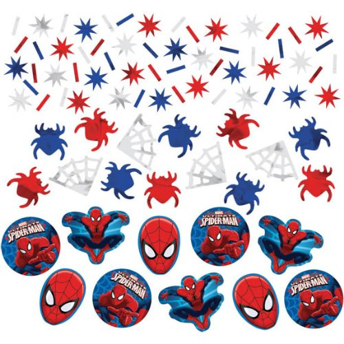 Spider-Man Foil Confetti Value Pack (Different Spiderman Costumes)