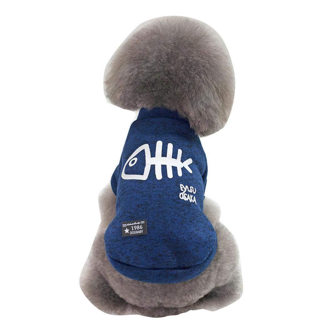 Creine Vestiti per Cani Piccola Taglia Invernali Eleganti Maglioncini Abbigliamento Cappottini Costume per Cani