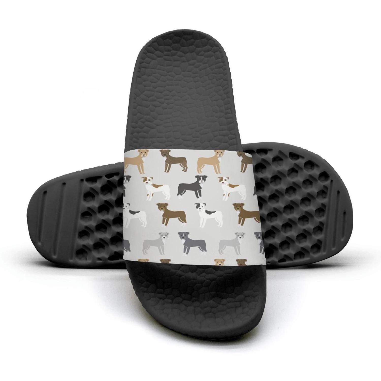cartoon animal dog pit bull Man fashion popular Summer Sandals Slides Mules Slippers