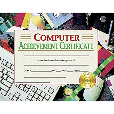 Computer Achievement Certificate (Set of 30): Toys & Games