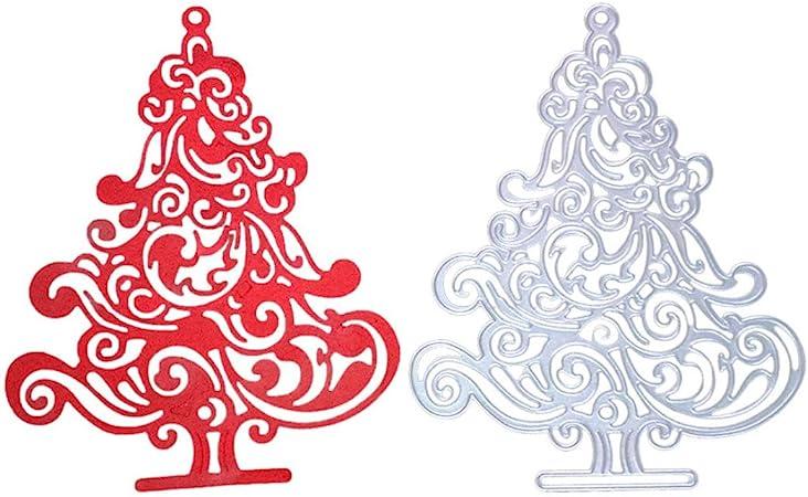 Christmas Tree Metal Cutting Die Stencil Scrapbooking Embossing Decor Photo Album Paper Card Craft Making
