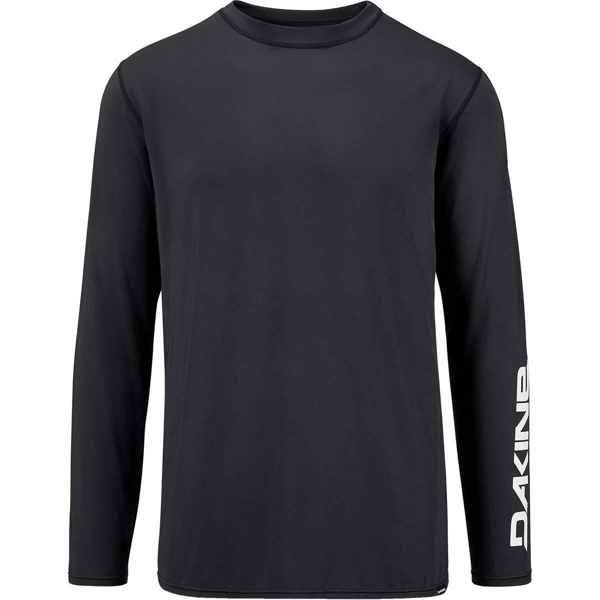 Dakine Mens Heavy Duty Loose Fit Long Sleeve Surf Shirt Black 10002278 Size L