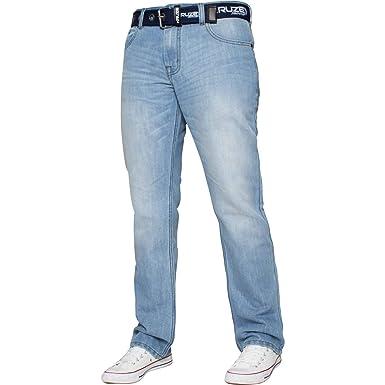 Jeans Neuf pour Hommes Sept Séries Jeans Coupe Skinny Extensible Délavé Pantalon Hommes: vêtements