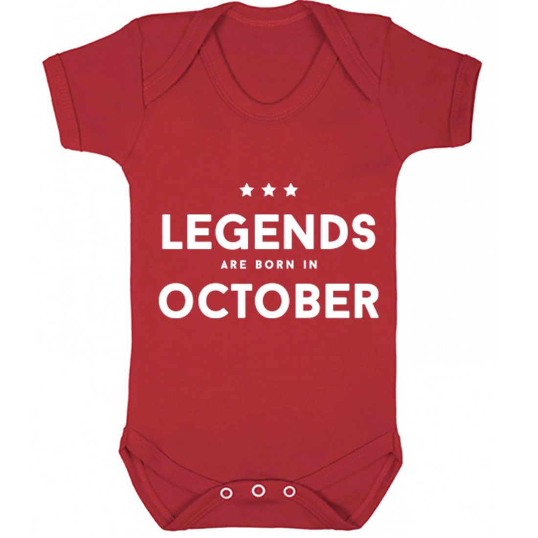Illustrated Identity Legends Are Born In October Vest Boys Girls