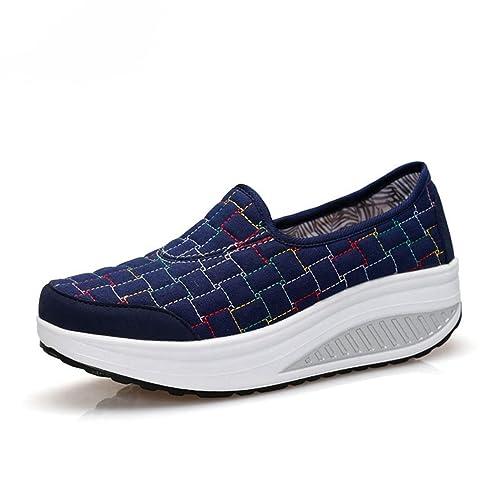 JITIAN - Zapatillas de Running de Lona Mujer: Amazon.es: Zapatos y complementos